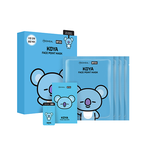 Mediheal,bt21 koya face point mask