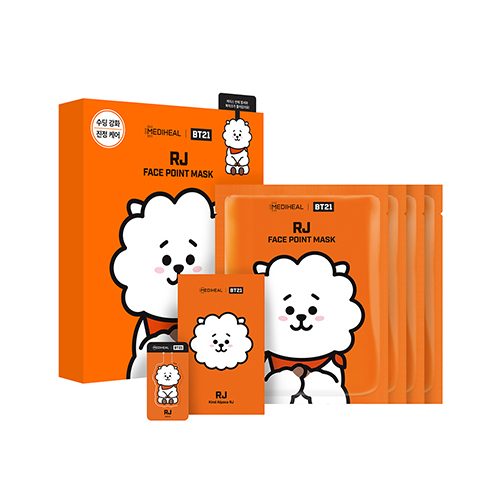 Mediheal,bt21 rj face point mask