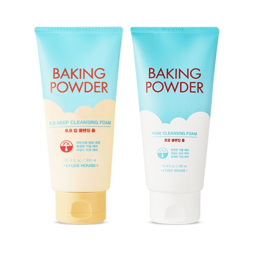 ETUDE_HOUSE,Baking_Powder_Cleansing_Foam_Big_Size_Set