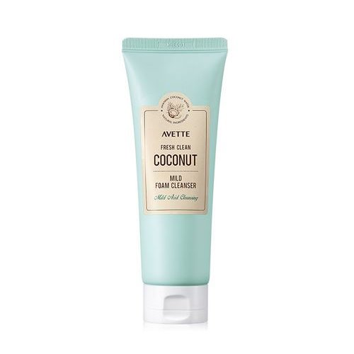 TONYMOLY,Avette_Fresh_Clean_Coconut_Mild_Foam_Cleanser