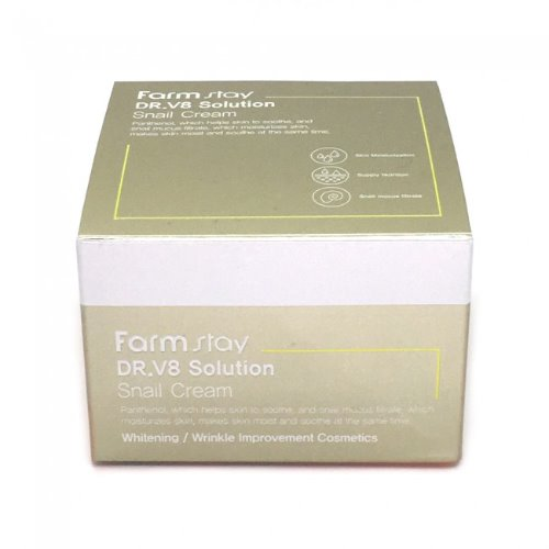 Farmstay,DR-V8 Solution Snail Cream