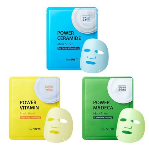 the saem,power mask sheet