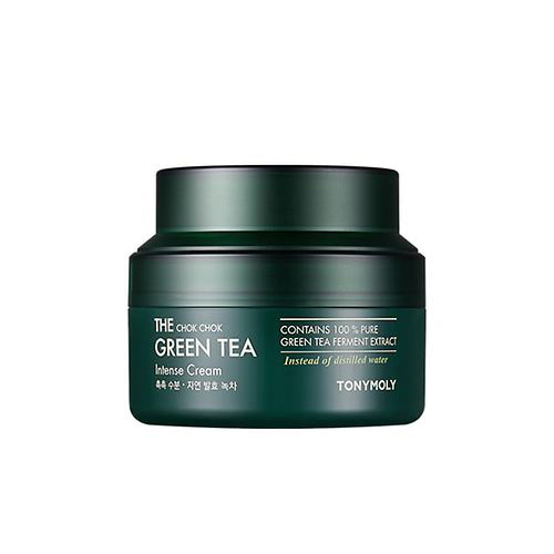 tonymoly,the chok chok green tea intense cream