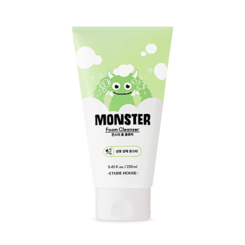 etude house,monster foam cleanser