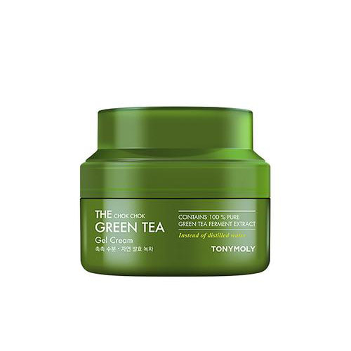 tonymoly,the chock chock green tea gel cream