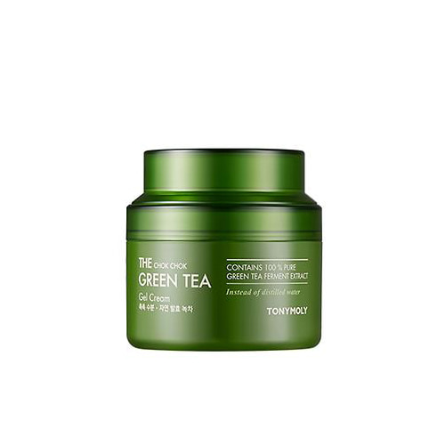 tonymoly,the chock chock green tea gel cream big size