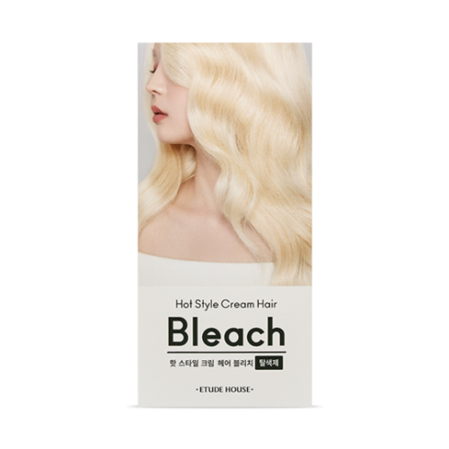 etude house,hot style cream hair bleach
