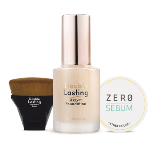 etude house,double lasting serum foundation set