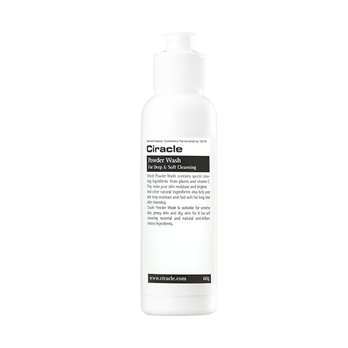 ciracle,powder wash for deep soft cleansing