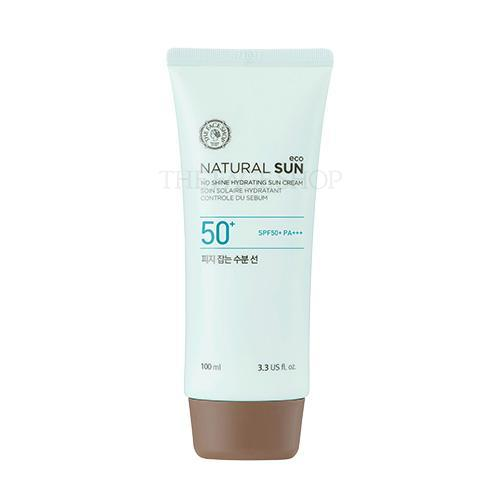 the face shop,natural sun eco no shine hydrating sun cream