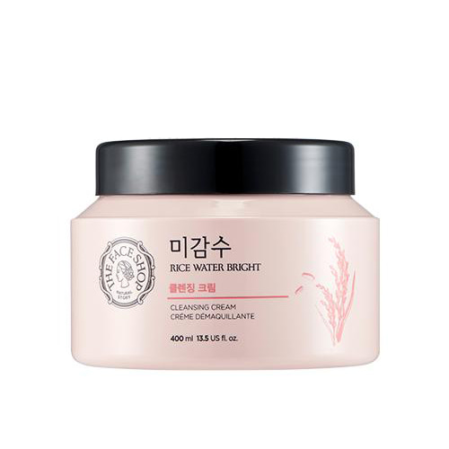 the face shop,rice water bright cleansing cream