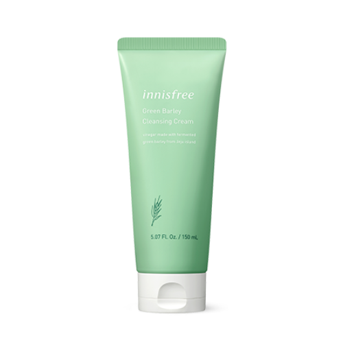 innisfree,green barley cleansing cream