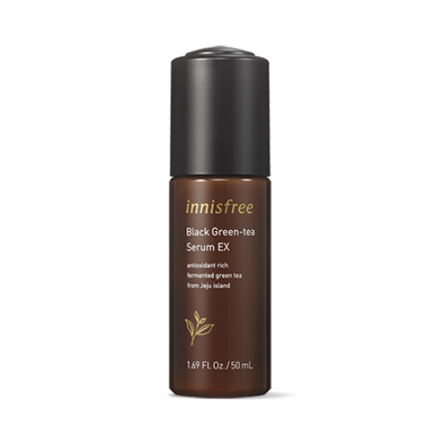 innisfree,black green tea serum ex