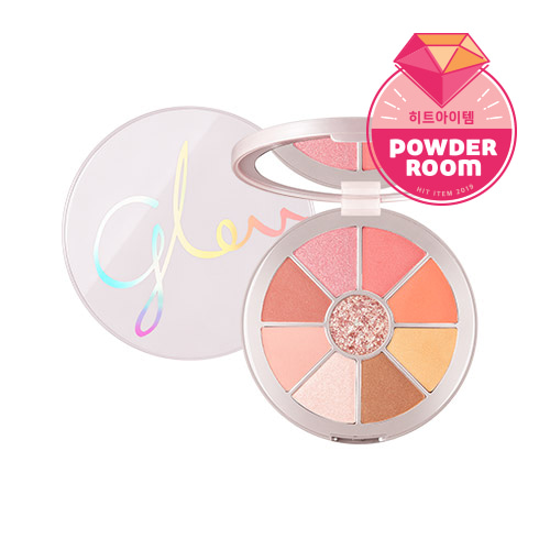 missha,glow 2 color filter shadow palette