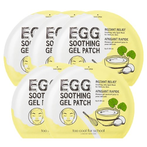 too cool for school,egg soothing gel patch