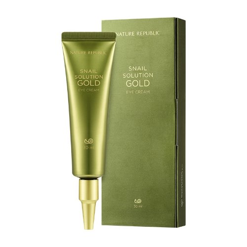 nature republic,snail solution gold eye cream