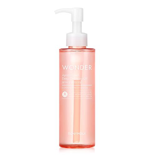 tonymoly,wonder apricot seed deep cleansing oil