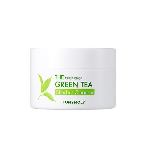 tonymoly,the chok chok green tea sherbet cleanser
