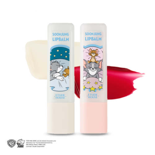 etude house,lucky together soon jung lip balm