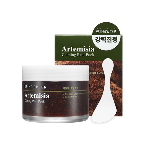 bring green,artemisia calming real pack