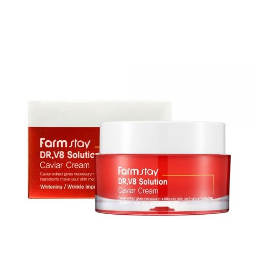 Farmstay,DR-V8 Solution Caviar Cream