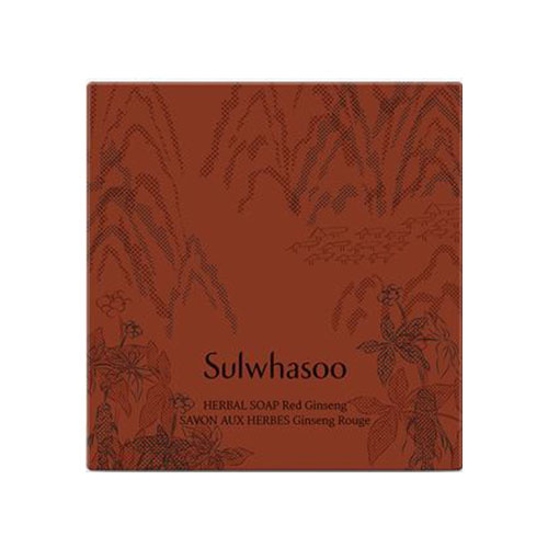 sulwhasoo,herbal soap red ginseng