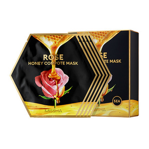Missha,Rose Honey Compote Mask
