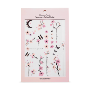 etude house,cherry blossom tattoo sticker
