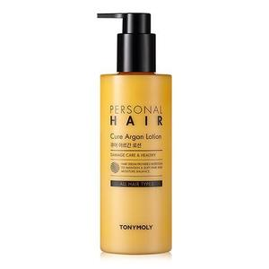 tonymoly,personal hair cure argan lotion