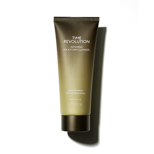 missha,time revolution artemisia pack foam cleanser