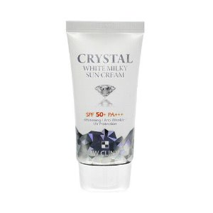 3wclinic,crystal white milky sun cream