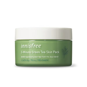 innisfree,green tea skin pack