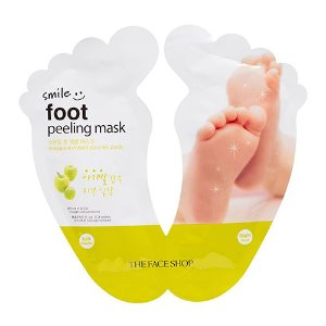 the face shop,smile foot peeling mask