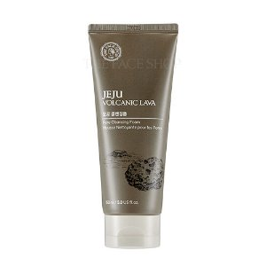 the face shop,jeju volcanic lava pore cleansing foam