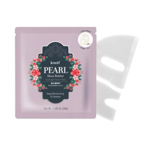 koelf,pearl and shea butter hydro gel mask pack