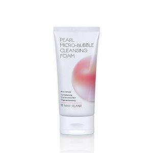 may island,pearl micro bubble cleansing foam