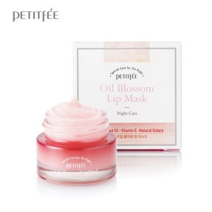 petitfee,oil blossom lip mask camelia seed oil