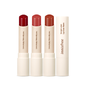 innisfree,simple lavel lip color balm