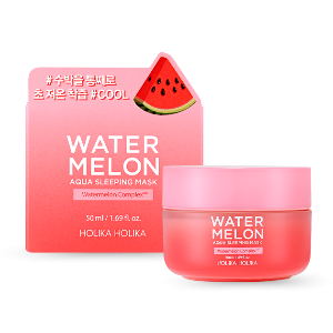 holika holika water melon aqua sleeping mask