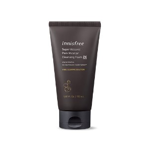 innisfree,super volcanic pore micellar cleansing foam 2x