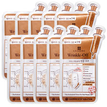 LEADERS Step Solution Wrinkle off Mask 25ml*10pcs