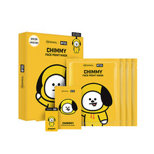Mediheal,bt21 chimmy face point mask