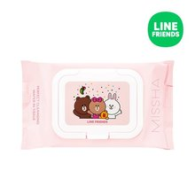MISSHA,Super_Aqua_Perfect_Cleansing_Water_in_Tissue_LINE_FRIENDS