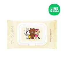 MISSHA,Super_Aqua_Perfect_Cleansing_Oil_in_Tissue_LINE_FRIENDS