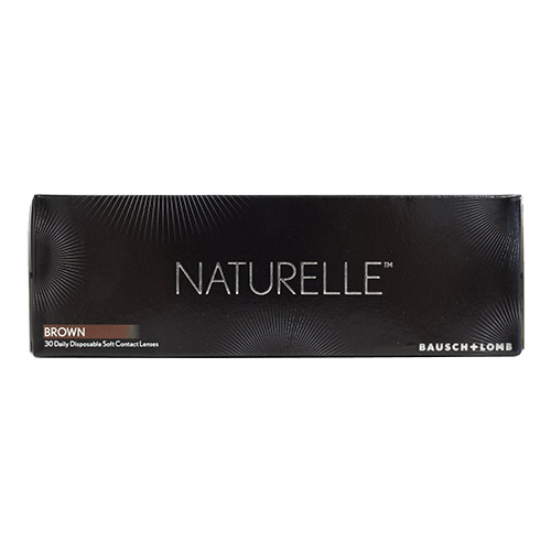 bausch&lomb,naturelle chic brown