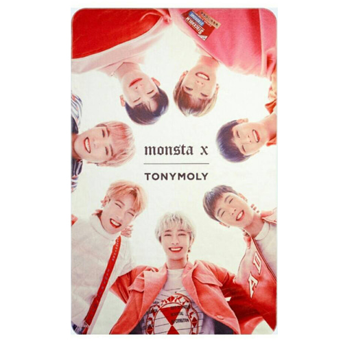 tonymoly,monsta x blanket
