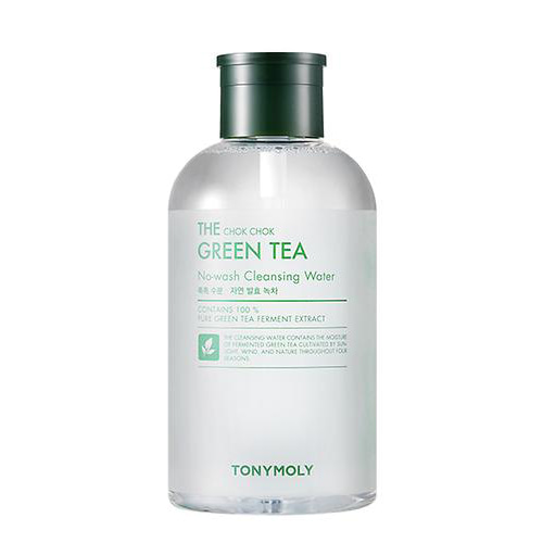 tonymoly,the chok chok green tea no wash cleansing water