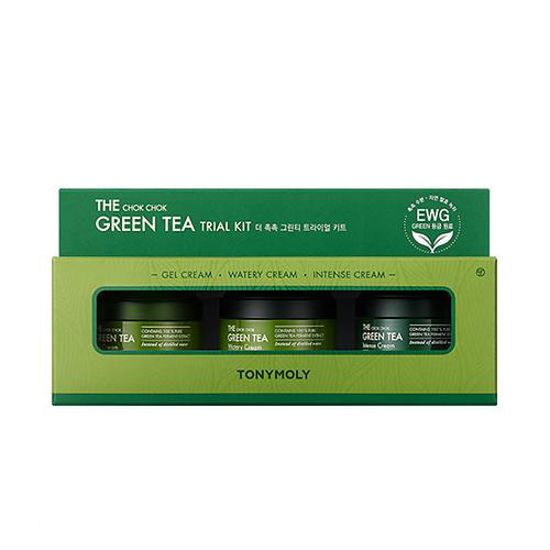 tonymoly,the chok chok green tea trial kit