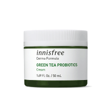 innisfree,derma formula green tea probiotics cream