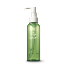 innisfree,green tea cleansing oil